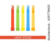 emergency light stick vector... | Shutterstock .eps vector #639778405