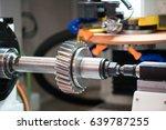metalworking cnc milling... | Shutterstock . vector #639787255