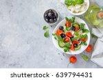 Greek Salad With Arugula ...