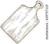vector antique engraving... | Shutterstock .eps vector #639797119