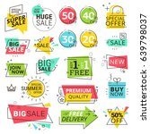 premium quality labels. modern... | Shutterstock .eps vector #639798037