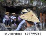asian women in traditional... | Shutterstock . vector #639799369