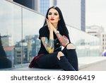 city style. portrait of... | Shutterstock . vector #639806419