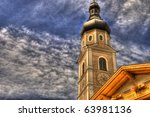 The Old Clock Tower In The...