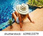summer holiday fashion concept  ... | Shutterstock . vector #639813379