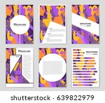 abstract vector layout... | Shutterstock .eps vector #639822979