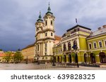 eger main square in hungary ... | Shutterstock . vector #639828325