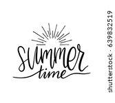 hand lettering inspirational... | Shutterstock .eps vector #639832519