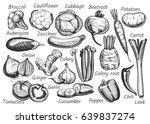 vector illustration of hand... | Shutterstock .eps vector #639837274