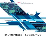 modern design business graphic...   Shutterstock .eps vector #639857479