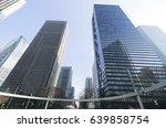 tokyo city landscape shinjuku... | Shutterstock . vector #639858754