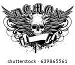 abstract vector illustration... | Shutterstock .eps vector #639865561