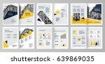 design annual report vector... | Shutterstock .eps vector #639869035
