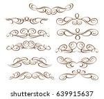 design elements.vector... | Shutterstock .eps vector #639915637