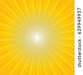 yellow burst background.... | Shutterstock .eps vector #639949957