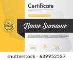 certificate template luxury and ...   Shutterstock .eps vector #639952537