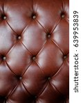 brown leather pattern | Shutterstock . vector #639953839