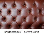 brown leather pattern | Shutterstock . vector #639953845