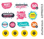 sale shopping banners. special... | Shutterstock .eps vector #639983515