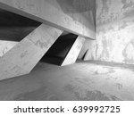 dark basement empty room... | Shutterstock . vector #639992725