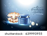 luxury cosmetic bottle package... | Shutterstock .eps vector #639993955