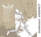 hand drawn illustration of... | Shutterstock .eps vector #640004677