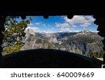 View Of Yosemite Valley  Half...
