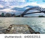 sydney harbor view point  | Shutterstock . vector #640032511