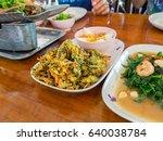 side dish   thailand food | Shutterstock . vector #640038784