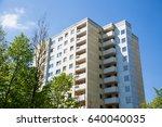 tenement house in germany | Shutterstock . vector #640040035