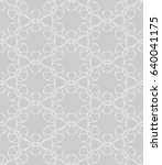 seamless geometric line pattern ...   Shutterstock .eps vector #640041175