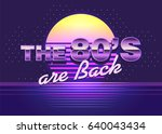 poster with cool design. back...   Shutterstock .eps vector #640043434