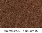 Small photo of peat soil as a background