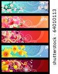 Five Different Multicolored...