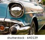 1957 chevy belair | Shutterstock . vector #640139