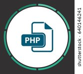 php file extension. flat simple ...