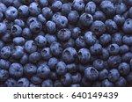 blueberries   Shutterstock . vector #640149439