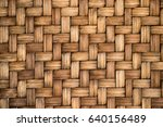 closed up of brown color wooden ... | Shutterstock . vector #640156489