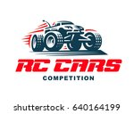 radio controlled machine  rc ... | Shutterstock . vector #640164199