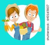 cartoon vector illustration of... | Shutterstock .eps vector #640165837