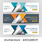 abstract web banner design... | Shutterstock .eps vector #640168819
