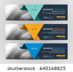 abstract web banner design... | Shutterstock .eps vector #640168825