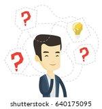 asian businessman having... | Shutterstock .eps vector #640175095