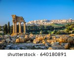 Ruins Of Temple Of Castor And...