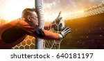 Stock photo fat gatekeeper failed goal soccer funny pictures 640181197