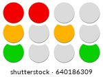 traffic lamp  traffic light ... | Shutterstock .eps vector #640186309