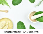 natural background with copy... | Shutterstock . vector #640186795