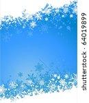 christmas background of... | Shutterstock .eps vector #64019899