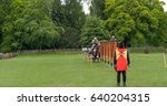 View Of A Medieval Joust With...