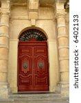 Ancient Door In A Church In...
